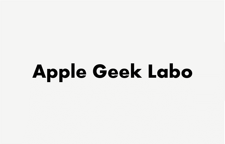 Apple Geek LABO